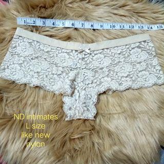 Cream panty usa bundle
