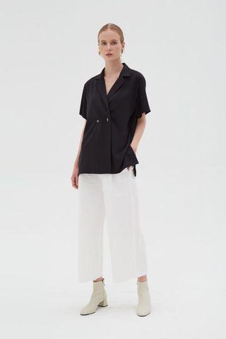 BN ShopAtVelvet Sid Top in Black