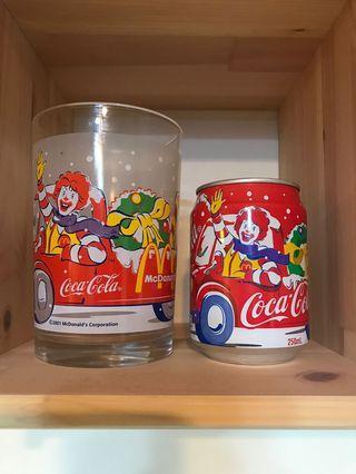 麥當勞可口可樂罐連杯(一套四款)