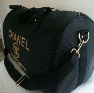 Chanel VIP Beauty Counter Gift Gym/Travel Bag (Rare find!!)