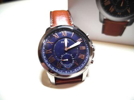 🚚 FOSSIL Q 多功能連動智慧錶,九成新,定價$6000(FTW1122)