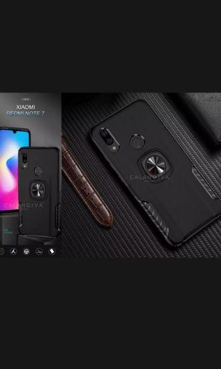 Casing hard rubber redmi note 7 like new