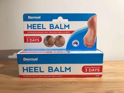 [全新 new] 澳洲 dermal 腳跟龜裂膏heel balm 50g
