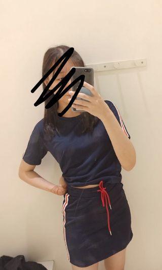 Sporty Set (Top +Skirt)