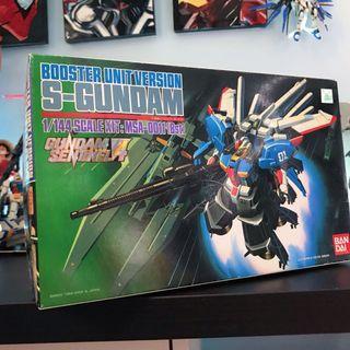[超特價]Booster Unit Version S-Gundam 高達模型 MSA-0011(Bst) 1/144