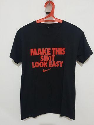 Kaos Nike Hitam Black