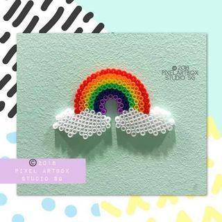 Keychains/ babymobiles/ coasters (Rainbow series)