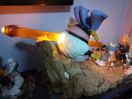 WTS Dragonball Majin Vegeta Vs Majin Buu Diorama Resin Statue