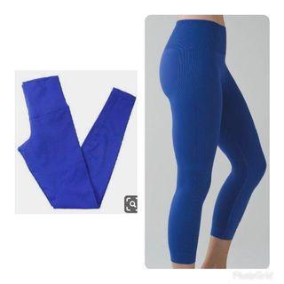Lululemon Leggings in Royal Blue