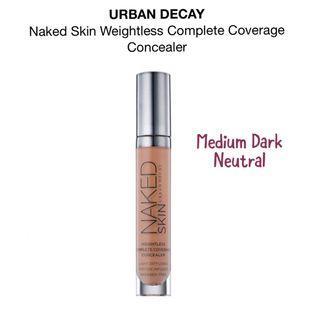 BNIB AUTHENTIC Urban Naked Skin Weightless Complete Coverage Concealer (Medium Dark Neutral)