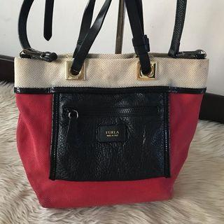100% Authentic Furla Two way Cute Sling Bag