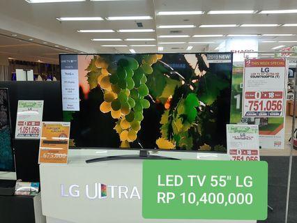 """LED TV LG 55"""" Kredit Pake KTP Proses 3 Menit Cair Barang Baru"""