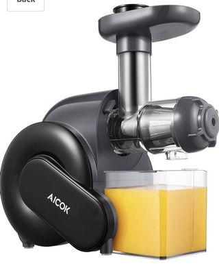 Juicer, Aicok Slow Masticating Juicer with Reverse Function, Juice Machine