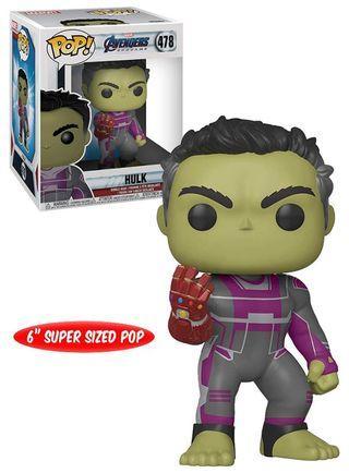 Funko Pop! Avengers: Endgame: 6-Inch Pop! Vinyl Figure: Hulk With Gauntlet