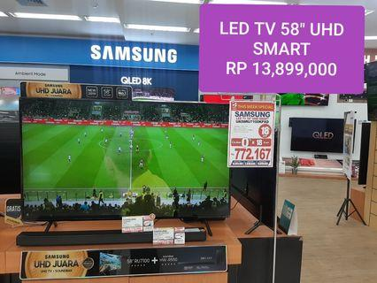 "LED TV SMART 58"" SAMSUNG Bisa Dicicil Tanpa Jaminan Resmi"