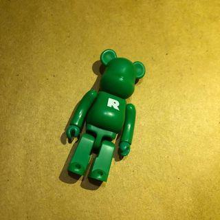 [包郵] Be@rbrick Series 6 Basic (R) 字母 bearbrick medicom toy