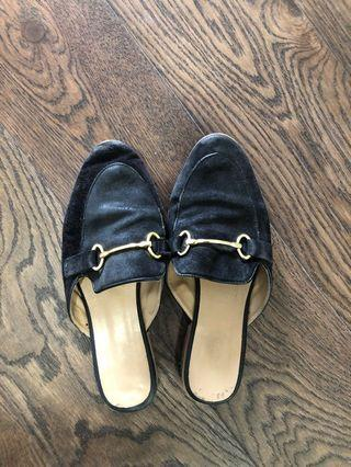 Topshop slip on shoes size 7