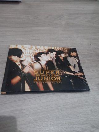 Super junior 4th album BONAMANA