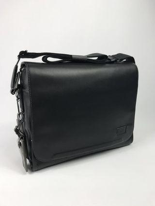TUMI Harrison Davenport Leather Messenger