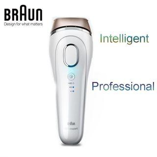 Braun Gillette Venus Silk-Expert IPL 5001 Intense Pulsed Light, 300,000 Flashes, Face & Body Hair Removal System with Razor