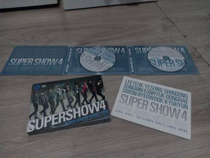 DVD super show 4 SEOUL