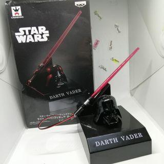 Banpresto Goukai series Light-up lightsaber with Darth Vader helmet Star Wars
