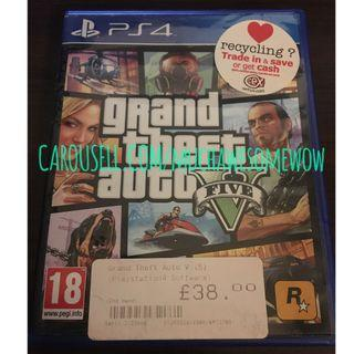 Grand Theft Auto 5 / GTA V (PS4)