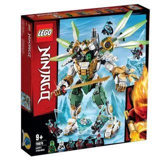 LEGO 70676- Ninjago : Secrets of the Forbidden Spinjitzu - Lloyd's Titan Mech (NEW)