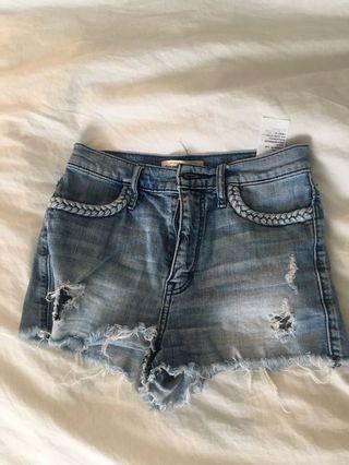 shorts from Abercrombie