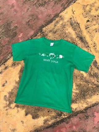 Tshirt Humor Meme Irish yoga