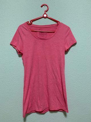 🔥 Giordano Heather Pink Slim Shirt