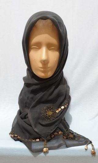 (Used) jilbab paris abu manik manik