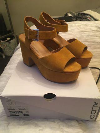 Aldo platform sandals - NEW
