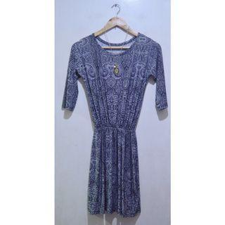 Printed Midi ¾ Sleeve Dress (UNUSED)