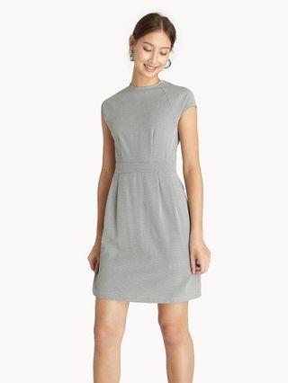 Pomelo Mini Houndstooth Dress
