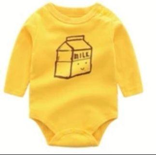 🚚 Milk baby romper