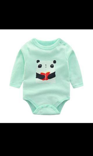 🚚 Panda baby romper
