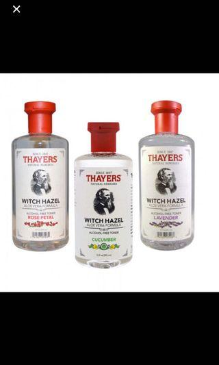 🚚 Thayers toner