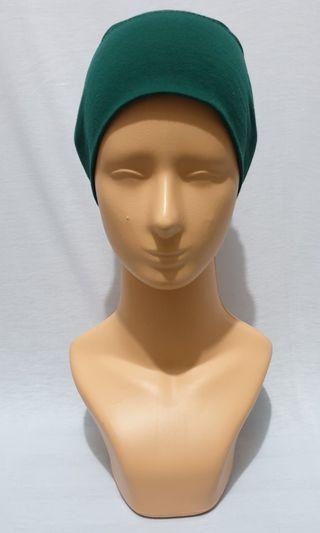(Used) Bandana katun warna emerald