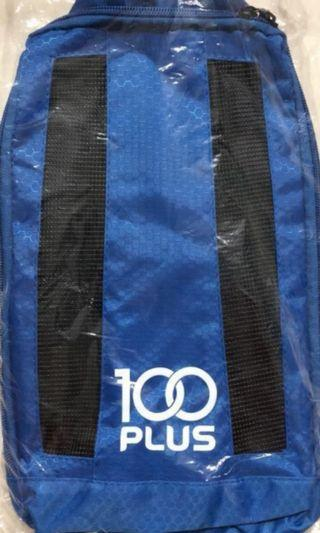 4 Brand New Shoe Bags in Blue and Black