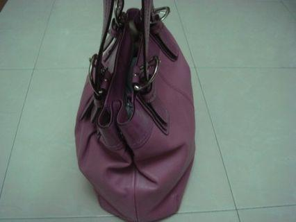 🚚 Coach Rose Pleated Bag NEW
