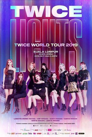 TwiceLights concert ticket in Malaysia