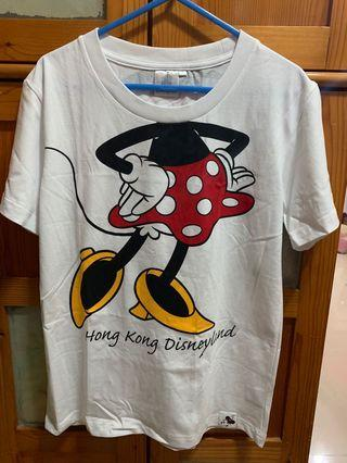 Hong Kong Disneyland minnie mickey tee T-shirt