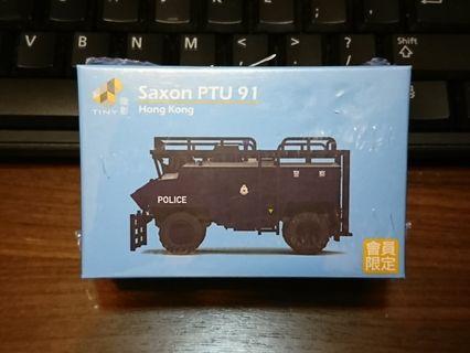 Tiny 微影 Hong Kong Police Saxon PTU 91 香港警察機動部隊 煞臣裝甲車 會員限定版