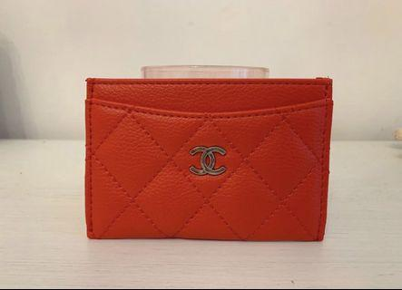 Chanel Card Case - Red