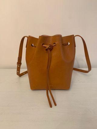 Mansur Gavriel Mini Bucket Bag - Cammello Rosa