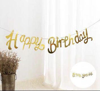 🚚 HAPPY BIRTHDAY BUNTING 🎂