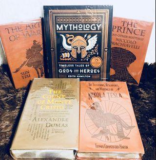 Brand New Classic Books