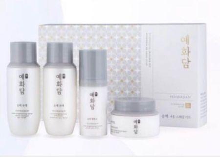 BNIB The Face Shop Yehwadam Brightening Skincare Kit