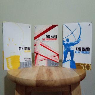 (Set) Ayn Rand books